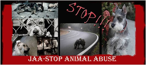 JAA-STOP ANIMAL ABUSE