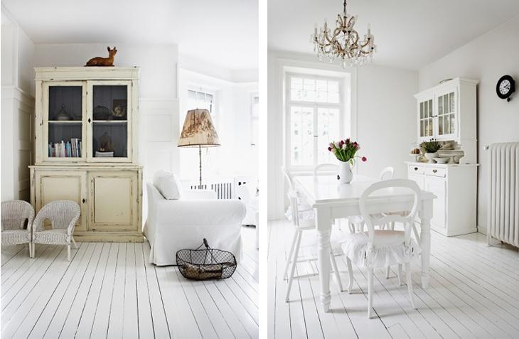 Σκανδιναβικό σπίτι με κλασσικές