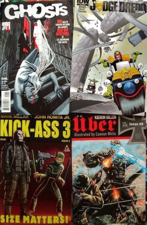 December comic books / cómics de diciembre