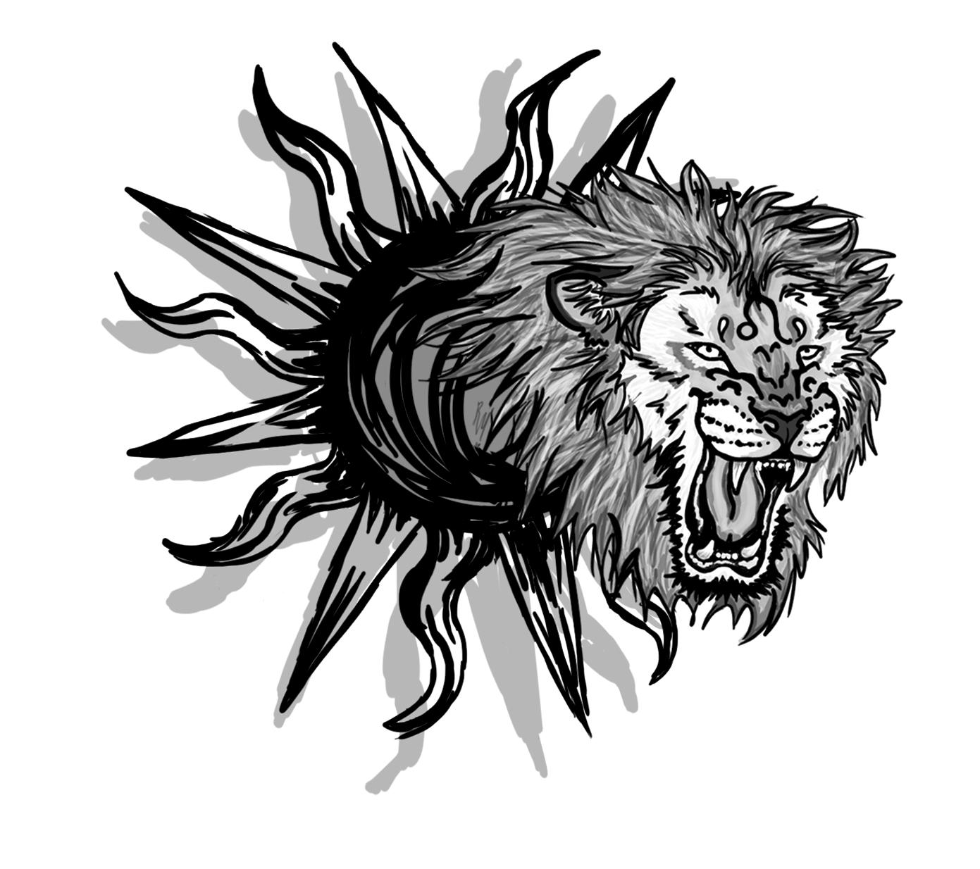 wild tattoos lion tattoo pics. Black Bedroom Furniture Sets. Home Design Ideas