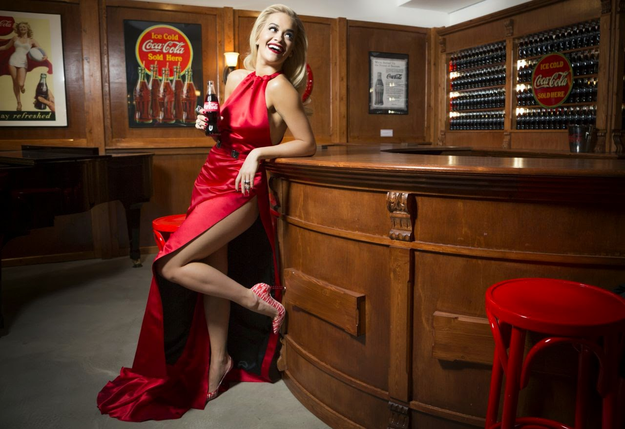 Singer, Actress @ Rita Ora - Celebrating 100 Years of the Coca-Cola Contour Bottle in London