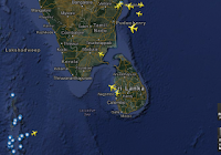 How to Locate Airplanes in Flight