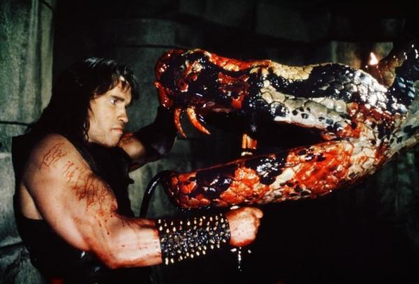 ÁLBUM DE FOTOS Conan the Barbarian 1982 Conan+The+Barbarian+1982+Snake+fight