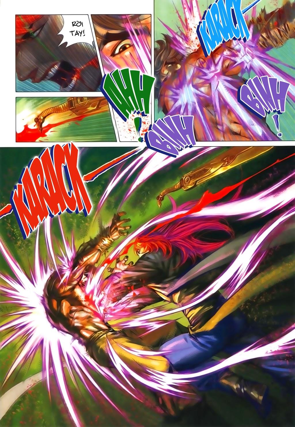 Thuyết Anh Hùng Thùy Thị Anh Hùng chap 16 Trang 9 - Mangak.info