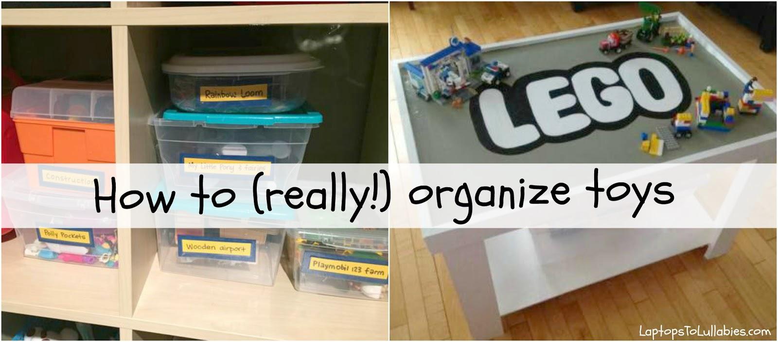 Laptops to Lullabies: Toy organization tips