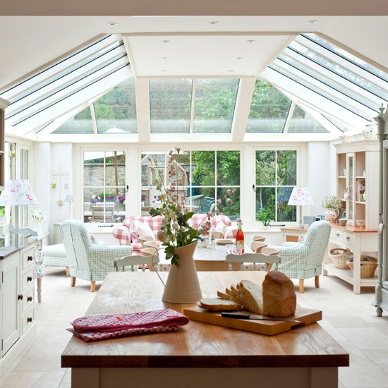 Ev dekorasyon hob k bah eleri - Sunroom off kitchen design ideas ...