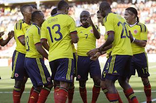 Rendimiento de los jugadores Colombianos en la Paz