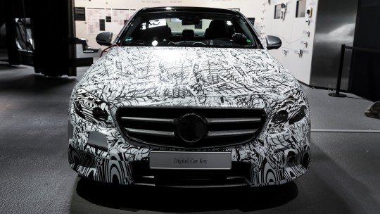 2016 Mercedes E-class Self driving car one step close front view