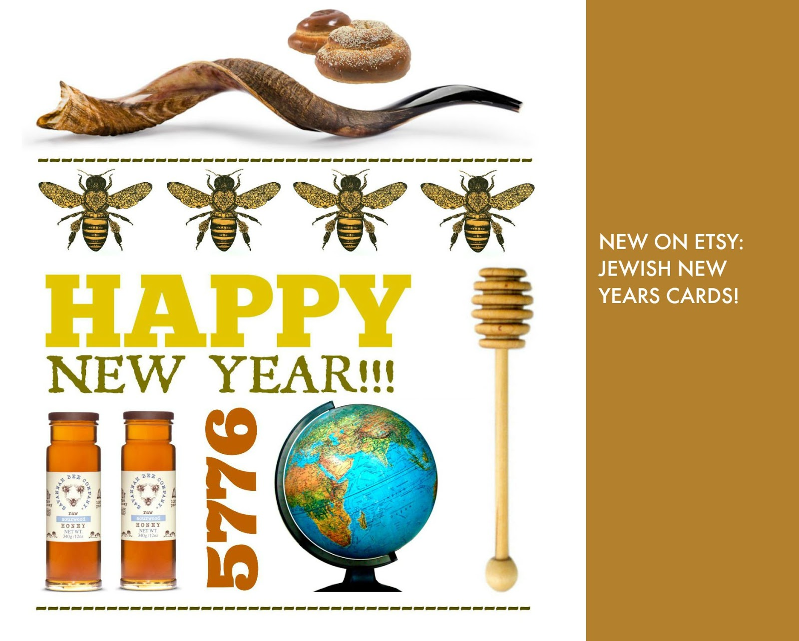 Design Megillah New At The Shop Jewish New Year Cards