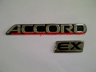Emblem Tulisan Ex Accord