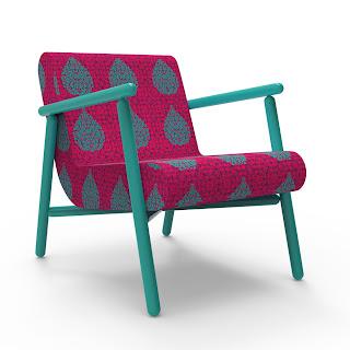 Krsna Mehta - designer upholstered chair