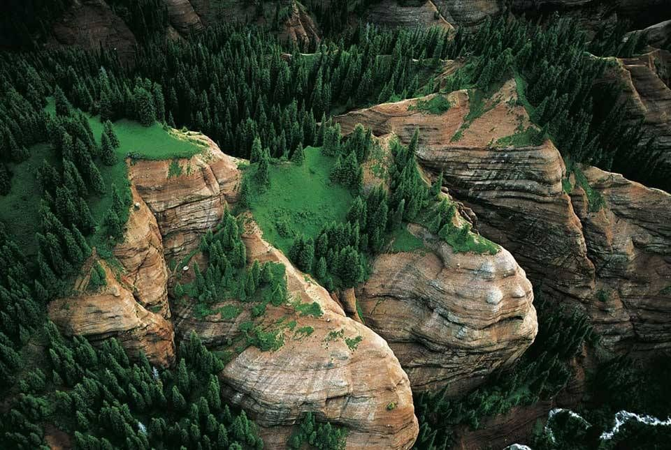 Красота гор на фото