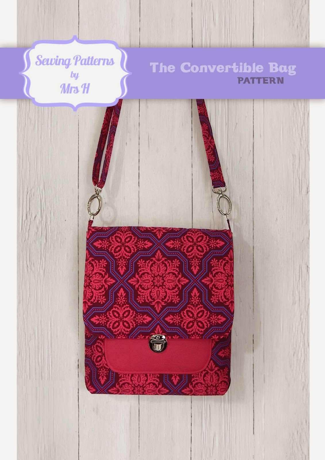 Bags And Purses Patterns : Bags: Sewing Patterns and Purse Supplies: March Pattern:: The Bag ...
