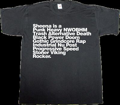 rock ramones heavy metal evolution t-shirt ephemeral-t-shirts