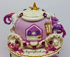 3D- Cinderella  Pumpkin Carriage Cake