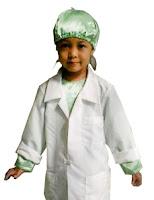 kostum profesi bedah hijau
