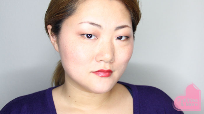 Lancome, Le French Touch Absolu, Rouge Saint-Honoré, swatch, red lipstick, makeup and beauty blog, asian eyes, asian monolid, single lid, makeup tutorial, makeup reviews, product reviews, cosmetics, make up, makeup, maquillage, tuto, tutorial, tutoriel, yeux, asiatique, futilitiesandmore.blogspot.com, futilities and more, futilitiesandmore, futilitiesmore