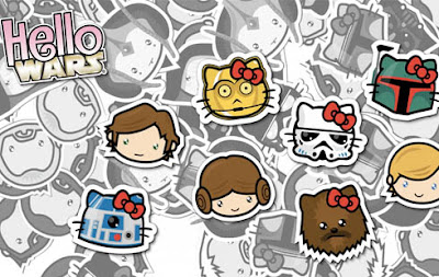 Hello Kitty Star Wars