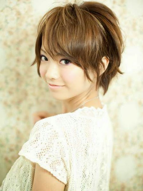 asian short hairstyles for thin hair girls