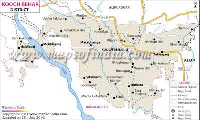 Kochbihar Map