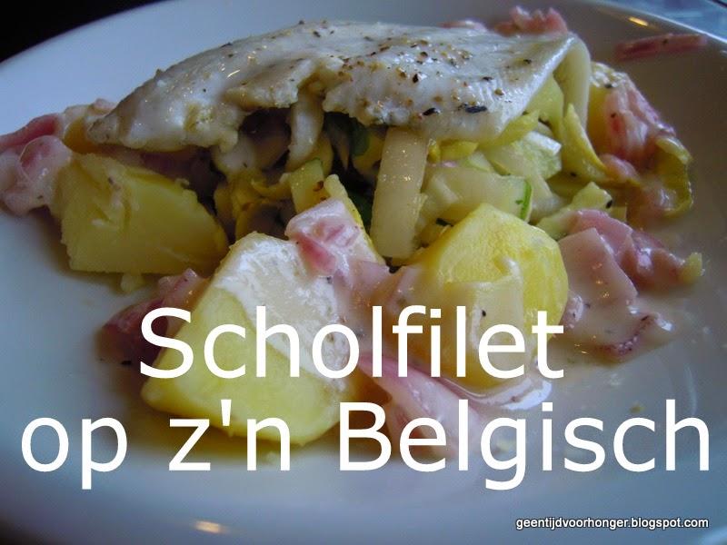 Scholfilet met Belgische producten #WW #Telvrij