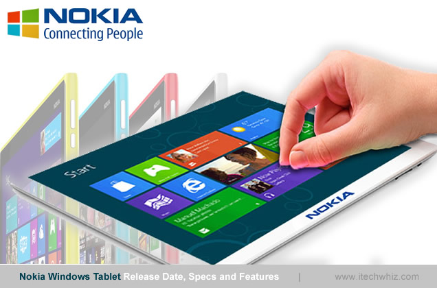 Nokia Windows 8/9 Tablets Specs, Release Date and Price