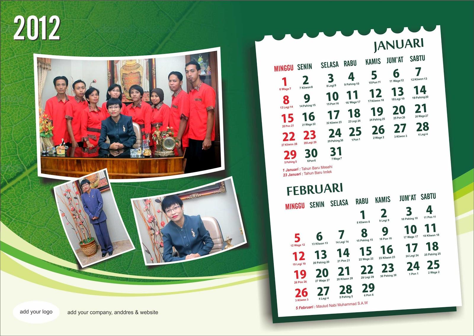 Kalender Duduk 2012