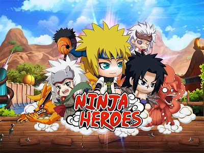 Download Game Ninja Heroes Offline atau Dari Google Play