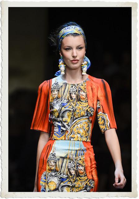 foulard in testa Dolce&Gabbana