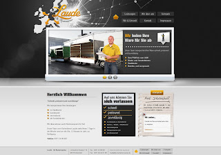 Kurierdienst Laude Webseite von Bitskin