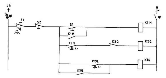 d u00e9marrage par  u00e9limination de r u00e9sistances rotoriques un seul sens de rotation