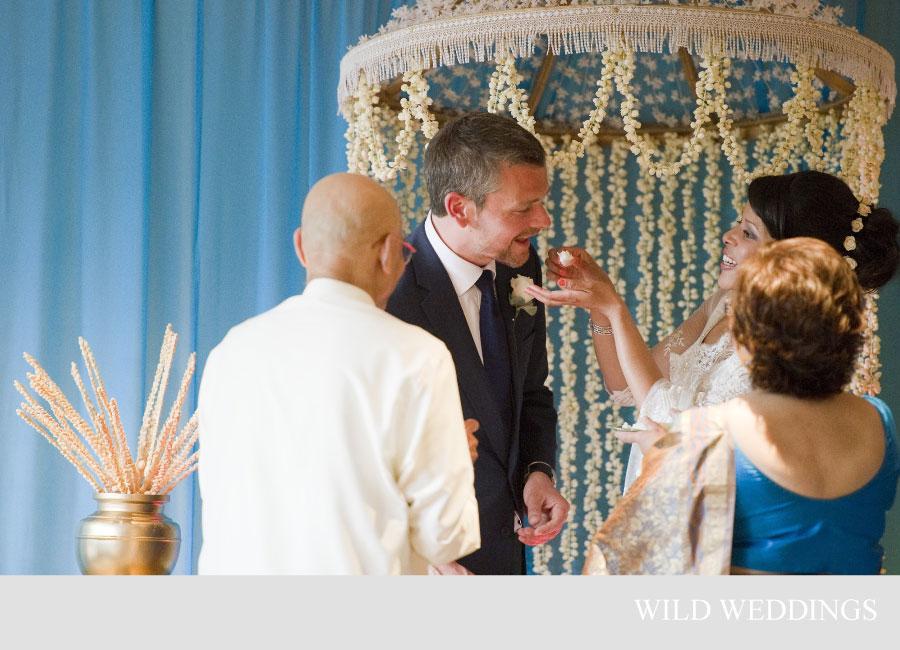 Four Unique Sri Lankan Wedding Poruwa Designs