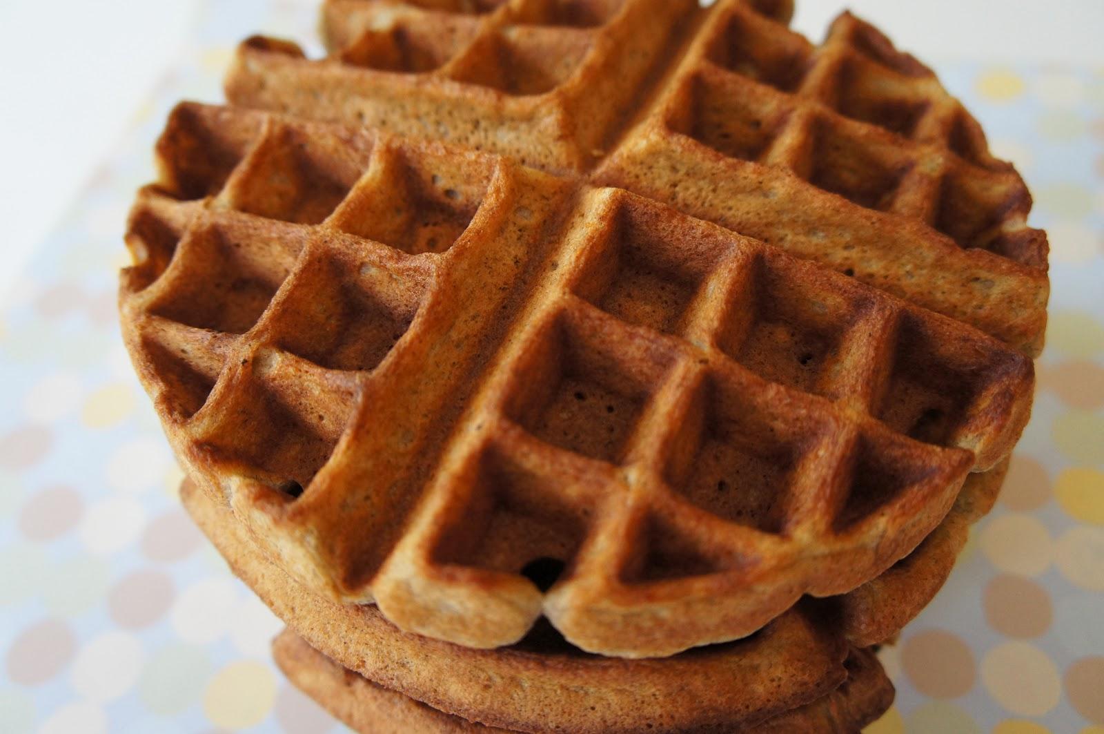 Whisked Away: Buckwheat Yogurt Waffles
