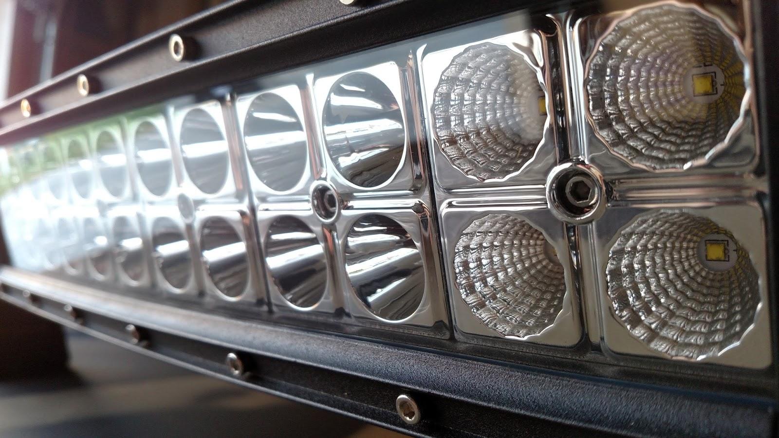 wf review 14 led light bar by 1aauto com wranglerforum com