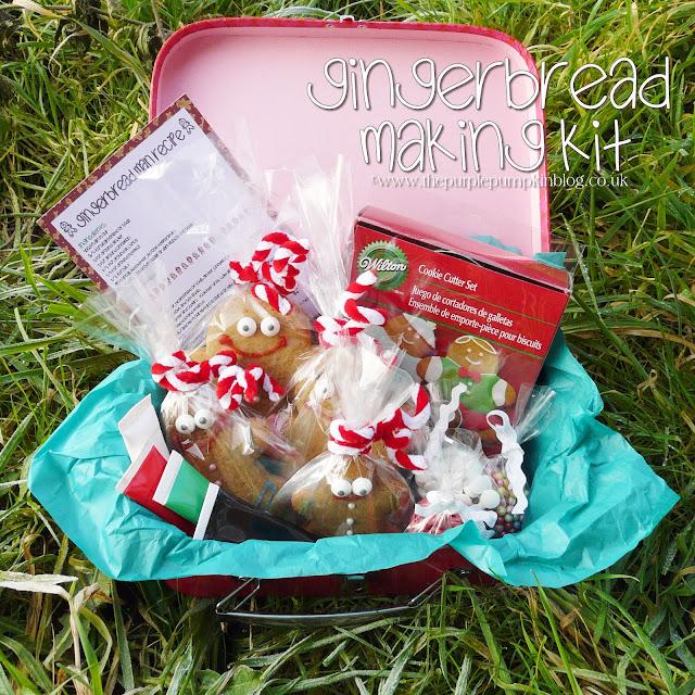 Gingerbread Making Kit [Homemade Gift] | The Purple Pumpkin Blog