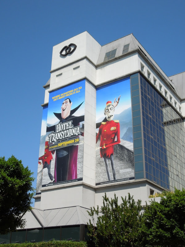 Giant Hotel Transylvania billboard