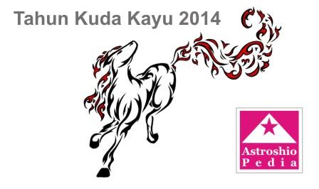 menurut zodiak cina tahun 2014 merupakan tahun kuda yang dimulai pada