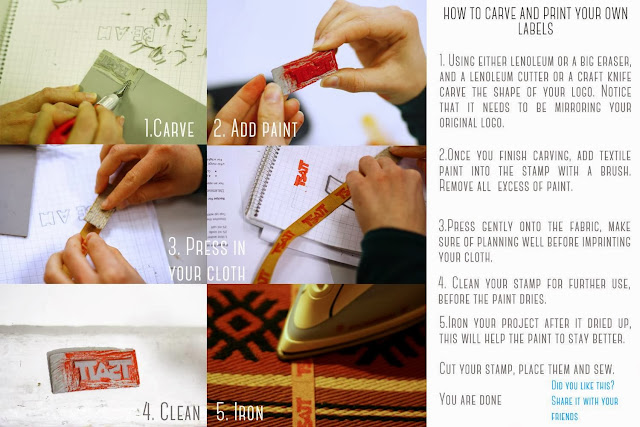 Tutorial on how to make your own cloth tags easy.
