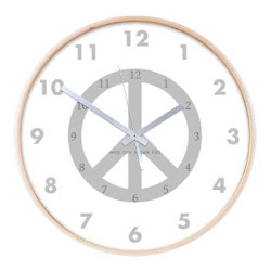Peace Sign Clock