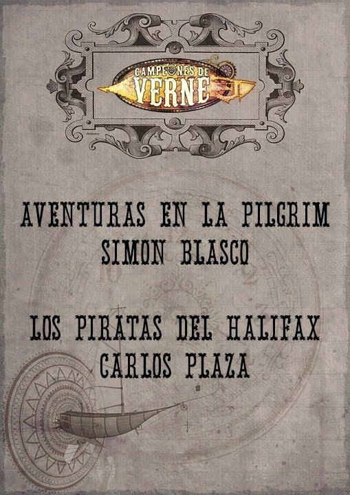Aventuras en la Pilgrim + Los piratas del Halifax
