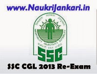ssc cgl 2013 re-exam date