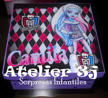 sorpresa infantiles MONSTER HIGH