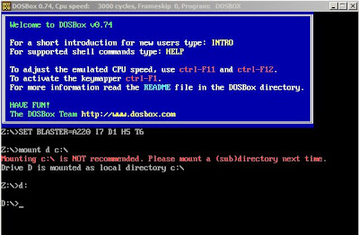 DosBox Turbo C On windows 7