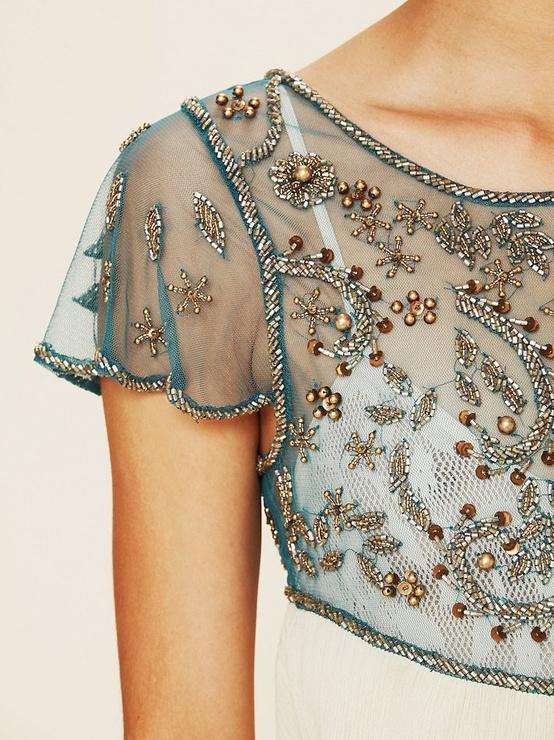 Платье бисером своими руками