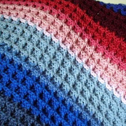 Waffle Crochet Tutorial