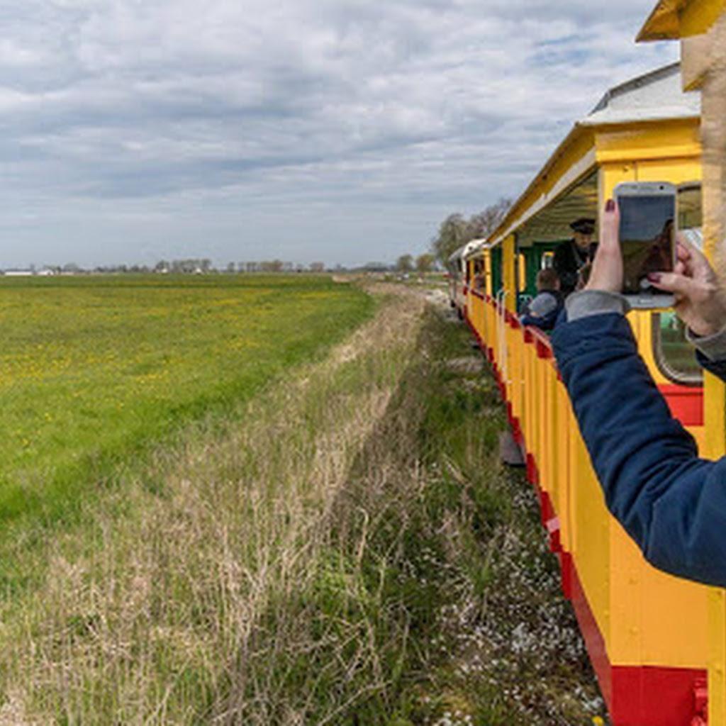 Żuławska Kolej Dojazdowa - super wąskotorówka nad morze!