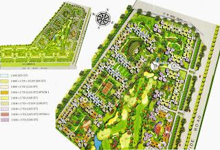 Amrapali Golf Homes :: Site Plan
