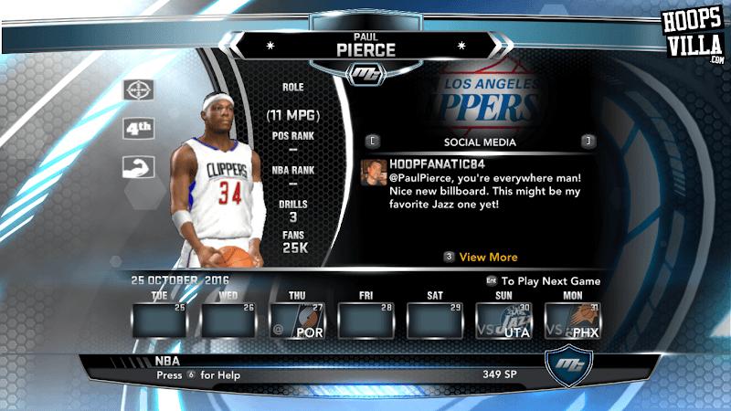 NBA 2k14 MyCareer Mod : Paul Pierce - hoopsvilla