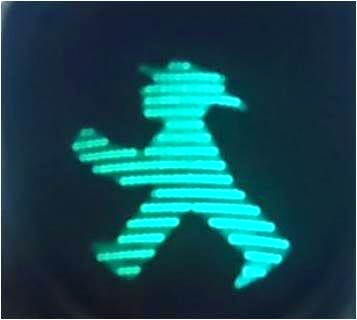 street light, Berlin, DDR, green