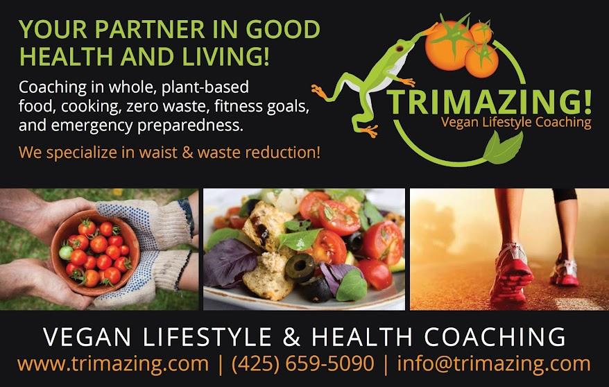 Trimazing! Vegan Lifestyle & Health Coaching